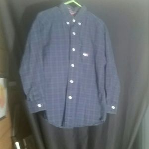 Tommy Hilfiger 6 boys button down shirt